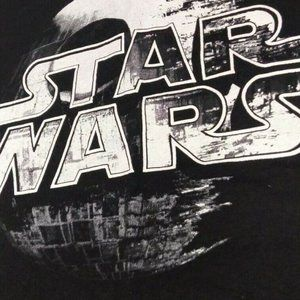 T-Shirt STAR WARS Death Star (Black Size M)
